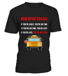 Best School Bus Driver front 4 Shirt  Funny School T-shirt, Best School T-shirt