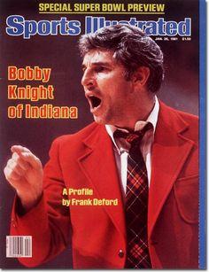 January 26 1981 Sports Illustrated magazine Bobby Knight Indiana on cover Indiana Basketball, Basketball Coach, Pitt Basketball, Basketball Tickets, College Basketball, Sports Magazine Covers, Bob Knight, Si Cover, Indiana Girl