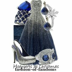 Yule Ball in ravenclaw, must look your best sunshine
