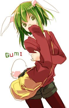 ☆☆ #anime ☆☆ GUMI | Gumi Bunny - Gumi (Vocaloids) Photo (32077796) - Fanpop fanclubs