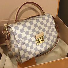 LV Damier Azur Handbags Shoulder Tote For Women Style, New Louis Vuitton Handbags Collection