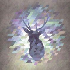 Deer by Deniz Erçelebi