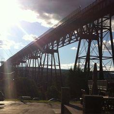 Train bridge crossing the Hudson. #travel #bicycletouring #lifestooshort #nomadiclife #cycling # by lewisandclarkandmark