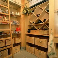 Awesome pantry/wine cellar