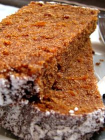 Easy Cake Recipes, Sweets Recipes, Cooking Recipes, Love Eat, Love Food, Polish Desserts, Peanut Butter Bread, My Favorite Food, Favorite Recipes