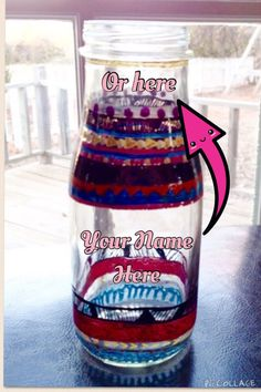 Hey, I found this really awesome Etsy listing at https://www.etsy.com/listing/219276945/personalized-tribal-print-vase