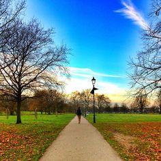 Clapham Common in Clapham, Greater London
