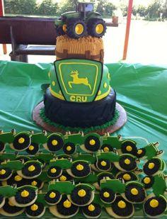 John Deere Cupcakes #party