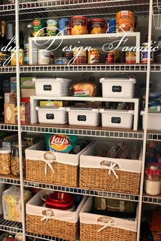 pantry organization, diy Design Fanatic, diy, organized pantry