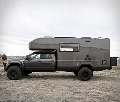 Earthroamer are global leaders in Xpedition Vehicles, their spectacular campers are in a class of their own and combine off-road and off-grid capabilities with with modern, home-like interiors. Their latest model is the mammoth EarthRoamer XV-LTS, bu