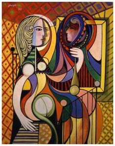 Picasso - Cubism pinned to schizophrenia