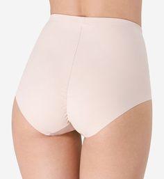 M /& S Sze 16 No VPL Bikini Slips Culottes Slips Extensible coton /& modal rose
