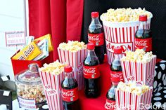 Popcorn Stairs cute for a movie party