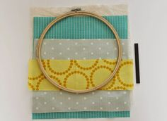 Sew Delicious: Embroidery Hoop Storage Pockets - Tutorial