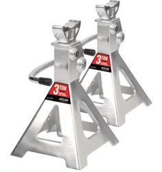 Shop for 3 Ton Aluminum Jack Stand Ratchet Style (Pair). Get free delivery On EVERYTHING* Overstock - Your Online Home Improvement Shop! Car Axle, Miter Saw Reviews, Lawn Equipment, Laptop Stand, Car Tools, Ratchet, Automotive Tools, Home Improvement, Vehicles