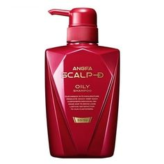 [S$70.00]★TRUSTED BRAND IN JAPAN!★Anfa Medicated shampoo Scalp D shampoo 350mL oily/dry/flaky scalp!! Direct from Japan!!
