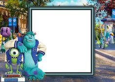 Monsters University Kids Transparent Frame