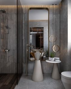 Bathroom Lighting Ideas For your Home Washroom Design, Bathroom Lighting Design, Bathroom Design Luxury, Toilet Design, Bathroom Light Fixtures, Bathroom Styling, Modern Bathroom, Bathroom Ideas, Luxury Interior