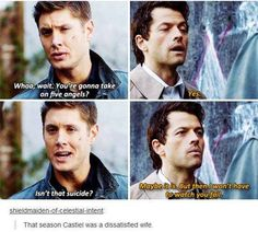 Castiel is a Winchester, noones gonna tell me otherwise Fangirl, Lgbt, Supernatural Destiel, Winchester Boys, Super Natural, Film Serie, Misha Collins, My Guy, Superwholock