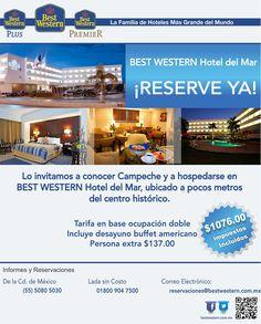 Tarifa especial en BEST Western Hotel del Mar en ocupación doble: $1076