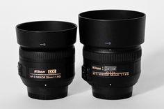 Nikon 35mm f/1.8G vs Nikon 50mm f/1.4G choosing lens comparison