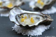 Huîtres au Granité de citron