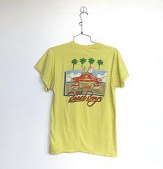 SOLD / Vintage Beach Boys 1983 World Tour / Concert Tshirt by VelouriaVintage, $34.00 #vintage #tshirt #beachboys