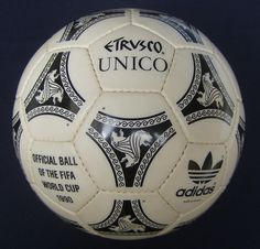 Balón Mundial Italia 1990.