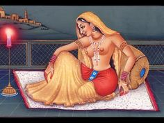 India Kamukta Love /Ancient Paintings of Mughal Time/HISTORICAL VIDEO