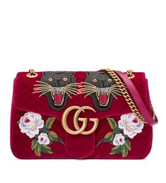 c974131d1c8 Gucci 110th Anniversary GG Marmont Small Panther Velvet Shoulder Bag   NMV3LN8  -  239.00   Upscalebags.cn