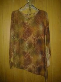 """One. v cute top 4 her sparkle stretch size large f. S 4 $ 13.99 chest 40"""" waist 38"""" hip 44""""lens37"""""""