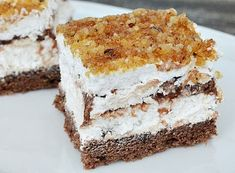 Maxi King, Food Cakes, Something Sweet, Vanilla Cake, Nutella, Tiramisu, Cake Recipes, Bacon, Food Porn