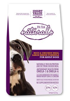 Rice & Chicken Meal Formula for Large Breed Dogs