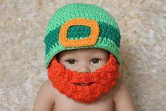 St. Patrick's Day Crochet Leprechaun by ButterfliesnLadybugs, $20.00
