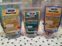 Boulder Dog Food Company - Chicken Liver Formula Biscotti, Turkey Bits, & Chicken Breast Strips #GodfreysDogdom