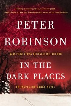 In the Dark Places by Peter Robinson ~~2nd day in a ROW the skool bus has broken down... this time w/ our kids inside!! wish we could move!! #keepWalking