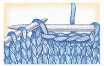one-row horizontal buttonhole