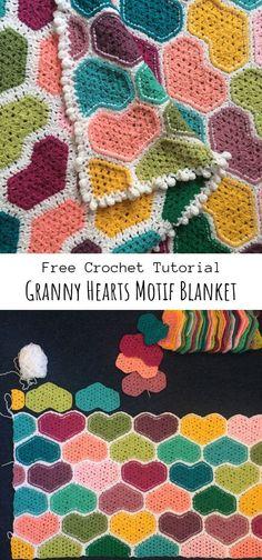 Crochet afghans 394065036148390222 - Source by spiraud Crochet Pattern Free, Crochet Gratis, Granny Square Crochet Pattern, Afghan Crochet Patterns, Crochet Squares, Crochet Baby, Knitting Patterns, Crochet Afghans, Crotchet