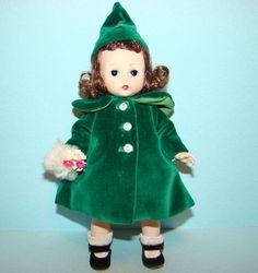 1956 Wendy Wears a Charming Ensemble Doll BKW Madame Alexander from americanbeautydolls on Ruby Lane