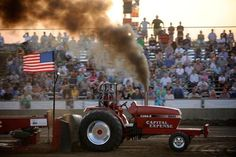 One of my favorite parts of the summer: tractor pull!