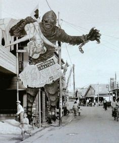Kinky Horror — Splatterday Mourning Cartoon: Superman - The Mad. Fantasy Movies, Sci Fi Movies, Mermaid Wallpaper Backgrounds, Tv Movie, Man Beast, Horror Monsters, Famous Monsters, Classic Horror Movies, Black Lagoon
