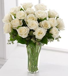 found here - N20-4308 - The FTD® Long Stem White Rose Bouquet