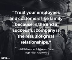 #MemberMonday: Missouri State Rep & NFIB Member Allen Andrews found business success through customer relationships.