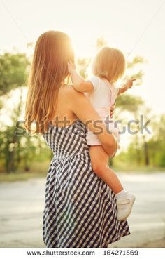 Family, mother and daughter, sunset by Elena Vagengeim on Creative Market Family Stock Photo, Advertising Photography, Beautiful Sunset, Strapless Dress, Daughter, Stock Photos, Summer Dresses, Creative, People