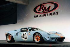 栄光の名車1968年型「GT40」が史上最高額で落札!