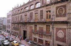 Palacio de Iturbide, Ciudad de México, México.