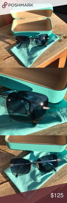 ❄️Tiffany & Co. Sunglasses❄️ Authentic and ZERO signs of wear. Come with an authentic Tiffany & Co. hard protective case and super soft cleansing sleeve. In LIKE NEW condition. Offers welcome and bundling will save you that moolah!! Tiffany & Co. Accessories Sunglasses