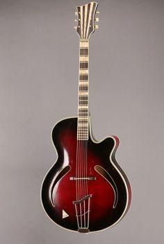 Vintage 1950 Hoyer 20 Solist Archtop Guitar