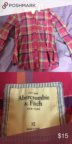 Abercrombie & Fitch Flannel Different colored Abercrombie & Fitch flannel Abercrombie & Fitch Other