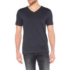 Colorado Joaquim - V-Neck T-Shirt - Anthra Mel